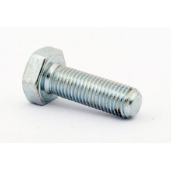 Śruba M 24 x 120 DIN 933 ISO 4017 PN 82105 klasa 8.8 ocynkowana łeb 6-kątny pełny gwint