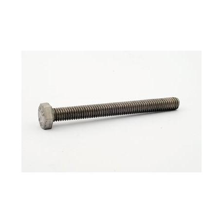 Śruba M 12 x 55 DIN 933 ISO 4017 PN 82105 A2 nierdzewna łeb sześciokątny pełny gwint na całej długości trzpienia całogwintowana