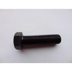 Śruba M 6 x 25 DIN 933 ISO 4017 PN 82105 klasa 10.9 łeb sześciokątny pełny gwint na całej długości trzpienia gwintowana mocna