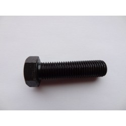 Śruba M 12 x 25 DIN 933 ISO 4017 PN 82105 klasa 10.9 łeb sześciokątny pełny gwint na całej długości trzpienia gwintowana mocna
